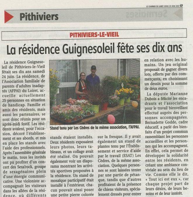 La Résidence Guignesoleil a fêté ses 10 ans