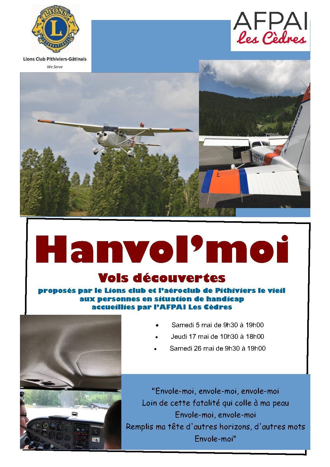 HANVOL'MOI Vols découvertes