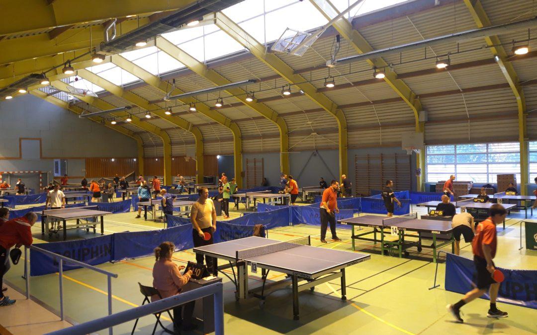 2 journées du championnat de régional de tennis de table à Orléans – St Marceau